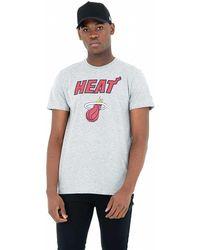 KTZ Team Logo Miami Heat - White