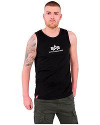 Alpha Industries Basic Sleeveless T-shirt - Black