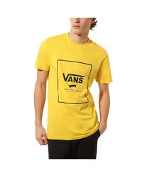 Vans Print Box - Yellow