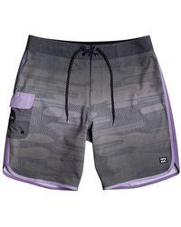 Billabong 73 Lineup Pro Swimming Shorts - Black