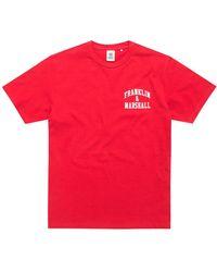 Franklin & Marshall Jersey Round Neck - Red