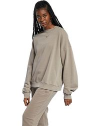 Reebok Natural Dye Crew Neck Sweatshirt - Gray