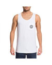 DC Shoes Pocket Sleeveless T-shirt - White
