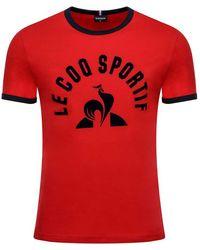 Le Coq Sportif Essentials N3 L Pure Red / Sky Captain