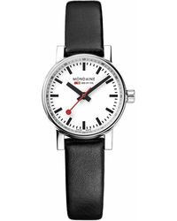 Mondaine Evo 2 Petite Watch - Black