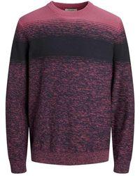 Jack & Jones Shape Knit Sweater - Pink