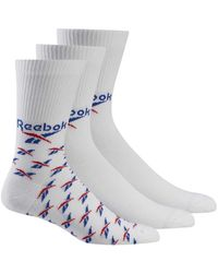 Reebok Fo Crew Socks 3 Pairs - Multicolor