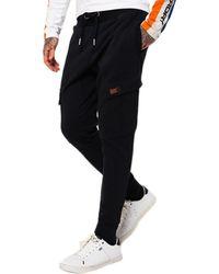Superdry Rookie Cargo Pocket Sweatpants - Black