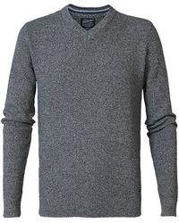Petrol Industries V-neck Sweater - Black