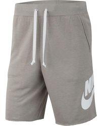 Nike Alumni Shorts - Gray