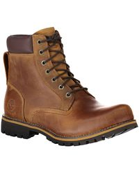 Timberland Rugged 6 In Plain Toe Boot Wp - Brown