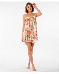 Rip Curl North Shore Mini Short Dress - Pink