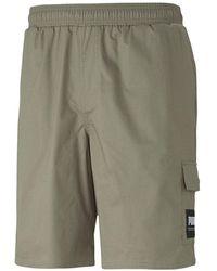 PUMA Summer Court Shorts - Green