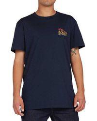 DC Shoes Shady Ways Short Sleeve T-shirt - Blue