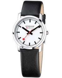 Mondaine Simply Elegant Watch - White