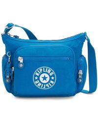 Kipling Crossbody Bag With Phone Compartment - Blue