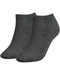 Tommy Hilfiger Sneaker 2 Pack Eu 39-42 Middle Gray Melange