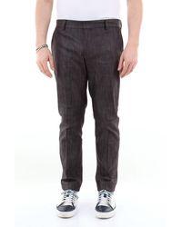 26.7 Twentysixseven Pantalon slim avec poche américaine - Multicolore