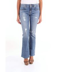 Dondup Jeans boyfriend - Blu