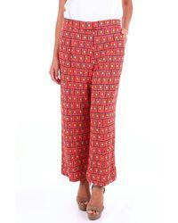 Maliparmi Pantalone - Rosso