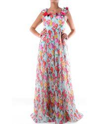 Blumarine Vestido largo - Multicolor