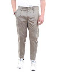 Paolo Pecora Pantalones regular - Gris