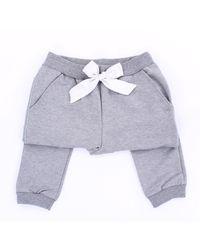 Pinko Pantalón deportivo solid color - Gris