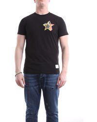 Saucony Camiseta negra de manga corta - Negro