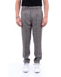 PT Torino Pantalones chinos de dos tonos - Gris