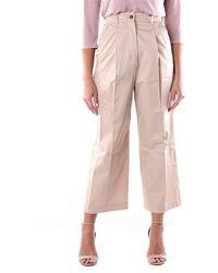 Max Mara Pantalones capri s max mara en color camel - Rosa