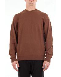 Fedeli - Fiel jersey de cuello redondo color - Lyst