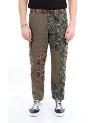 Whitesand 88 Pantalon 88 à motifs sable blanc avec poches cargo - Multicolore