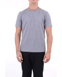 Eleventy Camiseta manga corta - Gris