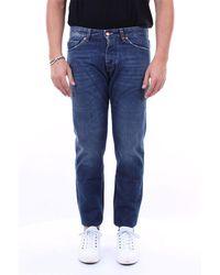 Michael Coal Jeans mark cropped 5 tasche - Blu