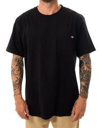 Dickies T-shirt porterdale dk0a4tmoblk - Nero