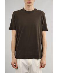 Paolo Pecora T-shirt unisexe - Marron