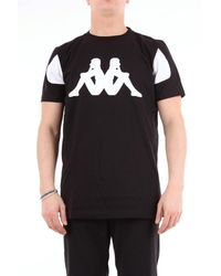 Kappa Kontroll Camiseta negra de manga corta - Negro