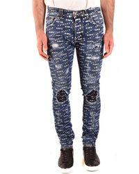 Philipp Plein Pantalones vaqueros regular - Azul