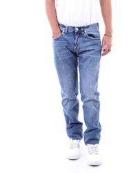 Eleventy Pantalones vaqueros delgado - Azul