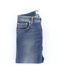 Jacob Cohen Jean 5 poches en coton stretch - Bleu