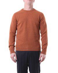 Paul Smith Jersey de cuello redondo en color - Naranja
