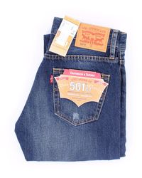 Levi's Levi's dark denim tapered jeans - Blau