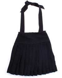 Dondup Faldas minifaldas chica - Negro