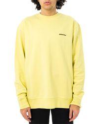 Dickies Felpa loretto sweatshirt dk0a4xcrb54 - Verde
