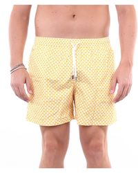 Fedeli Traje de baño pantalones cortos mar - Amarillo