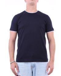 Eleventy Camiseta manga corta - Azul