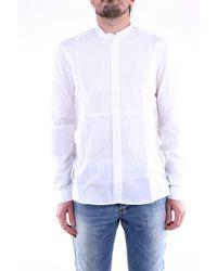 LOWBRAND Chemise à manches longues en - Blanc