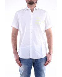 Department 5 Chemise à manches courtes en - Blanc