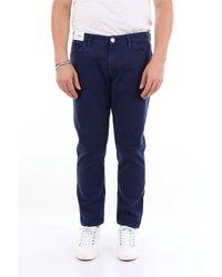 Pt05 Pantalones regular - Azul