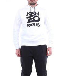 KENZO Es kapuzen-sweatshirt - Weiß